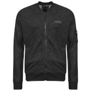 Dissident Men's Hedron Baseball Jacket - Black