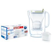BRITA MAXTRA+ Fad Cool Lime Water Filter Jug and MAXTRA+ 6 Pack Cartridges