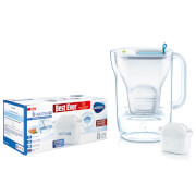 BRITA MAXTRA+ Category Cool Blue Water Filter Jug and MAXTRA+ 6 Pack Cartridges
