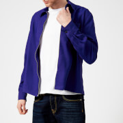 AMI Men's Zipped Light Jacket - Purple - M - Purple