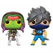 Capcom vs Marvel Gamora vs Strider EXC Pop! Vinyl 2er-Pack