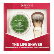 Купить Men Rock The Life Shaver (Sicilian Lime Shave Cream, The Brush)