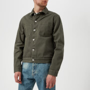 A.P.C. Men's Blouson Career Jacket - Khaki - L - Green
