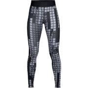 Under Armour Women's HeatGear Armour Printed Leggings - Black