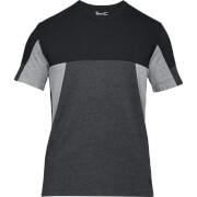 Under Armour Men's Sportstyle Colourblock T-Shirt - Black