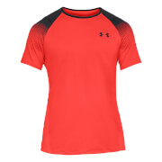 Under Armour Men's MK1 Dash Left Chest T-Shirt - Red - L - Red