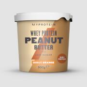 Beurre de cacahuète protéiné - 500g - Chocolat-Orange