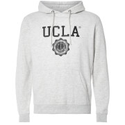UCLA Men's Colin Logo Hoody - Light Grey Marl