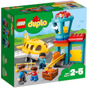 LEGO DUPLO My Town Airport Building Set with Airplane (10871)