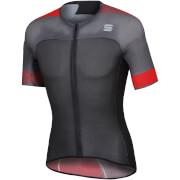 Sportful BodyFit Pro 2.0 Light Jersey - L - Orange SDR/Fire Red