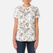 Barbour Heritage Women's Wildflower T-Shirt - White - UK 12 - White
