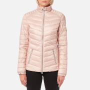 Barbour International Women's Triple Quilt Jacket - Pale Pink