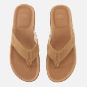 UGG Men's Braven Flip Flops - Chestnut