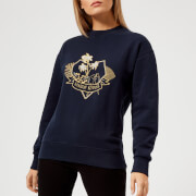 Maison Kitsuné Women's Love Blazon Sweatshirt - Navy - L - Blue