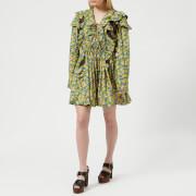 MSGM Women's Floral Mini Dress - Multi - IT 40/UK 8 - Multi