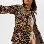Ganni Women's Camberwell Jacket - Leopard - EU 40/UK 12 - Multi