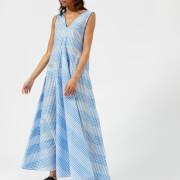 Ganni Women's Charron Dress - Marina - EU 34/UK 6 - Blue