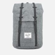 Herschel Supply Co. Men's Retreat Backpack - Raven Crosshatch/Black Rubber