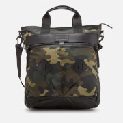 Polo Ralph Lauren Men's Canvas Utility Adventure Tote Bag - Olive Camo