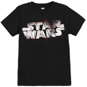 Star Wars The Last Jedi Spray Kid's Black T-Shirt