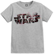 Star Wars The Last Jedi Spray Kid's Grey T-Shirt