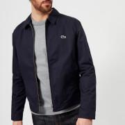 Lacoste Men's Zipped Blouson - Dark Navy Blue - XL - Navy