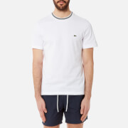 Lacoste Men's Collar Tipped T-Shirt - Blanc