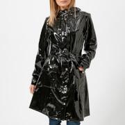 RAINS Women's Curve Jacket - Black - S-M - Black