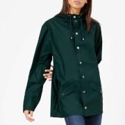 RAINS Women's Jacket - Dark Teal - M-L - Green