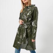 RAINS Women's Curve Jacket - Green - M-L - Green
