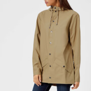 RAINS Women's Jacket - Desert - M-L - Brown