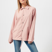 RAINS Women's Coach Jacket - Rose - M-L - Pink