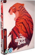 Das Jungelbuch (Animation) - Mondo Zavvi Exclusive Limited Edition Steelbook Blu-ray