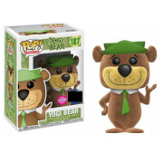 Yogi Bear Flocked EXC Pop! Vinyl Figure