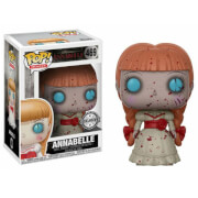 Click to view product details and reviews for Horror Annabelle Bloody Exc Pop Vinyl Figure.