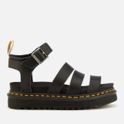 Dr. Martens Women's V Blaire Strappy Flatform Sandals - Black