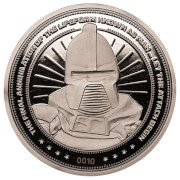 Battlestar Galactica Collector's Limited Edition Coin: Silver Variant – Zavvi Exclusive