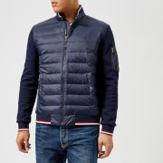 Polo Ralph Lauren Men's Hybrid Quilted Jacket - French Navy - L - Navy