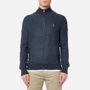 Polo Ralph Lauren Men's Full Zip Sweatshirt - Winter Navy Heather - L - Navy