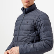 Polo Ralph Lauren Men's Down Fill Jacket - Worth Navy Heather - L - Navy