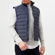 Polo Ralph Lauren Men's Down Fill Vest - Worth Navy Heather - L - Navy