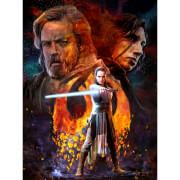 Lithographie Star Wars Les Derniers Jedi