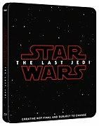 Star Wars: The Last Jedi 3D (Includes 2D Version) - Zavvi UK Exclusive Steelbook