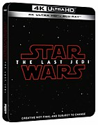 Star Wars: Die letzten Jedi 4K UHD Blu-Ray Steelbook Limited Edition UK Exclusive