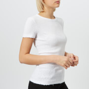 Helmut Lang Women's Chewed Up Vintage T-Shirt - White - M - White