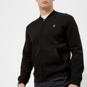 Polo Ralph Lauren Men's Double Knit Tech Baseball Jacket - Polo Black - L - Black