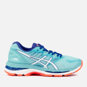 Asics Running Women's Gel-Nimbus 20 Trainers - Porcelain Blue/White/Asics Running Blue