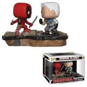 Deadpool Comic Moments Deadpool vs Cable Pop! Vinyl Figure 2-Pack