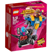 LEGO Superheroes Mighty Micros: Star-Lord Vs. Nebula (76090)