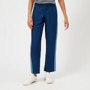A.P.C. Women's Cooper Denim Trousers - Indigo Delave - EU 34/UK 6 - Blue
